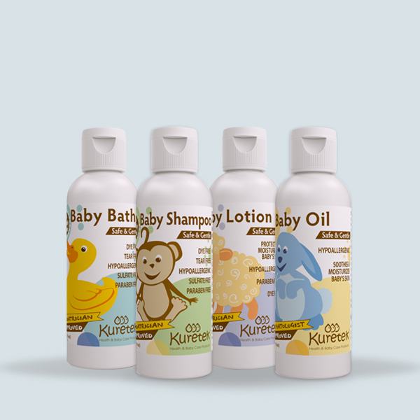 4 Baby Essentials  2 Oz (59ml) each